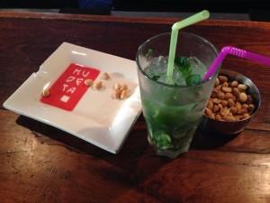 Un large choix de boisson au lounge bar du Kudéta.