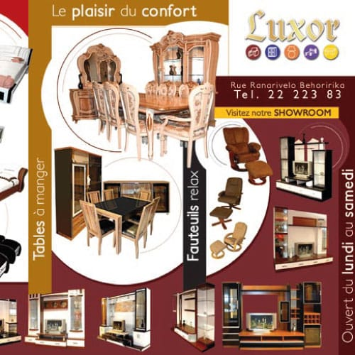 luxor pour la simple envie du confort. Black Bedroom Furniture Sets. Home Design Ideas