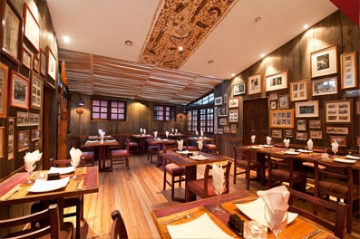 Salle de restaurant du Sakamanga