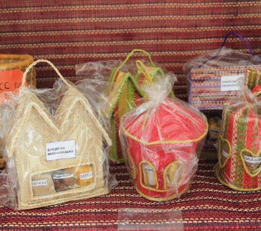 Boutique d'artisanat malagasy du K.méléon Hôtel