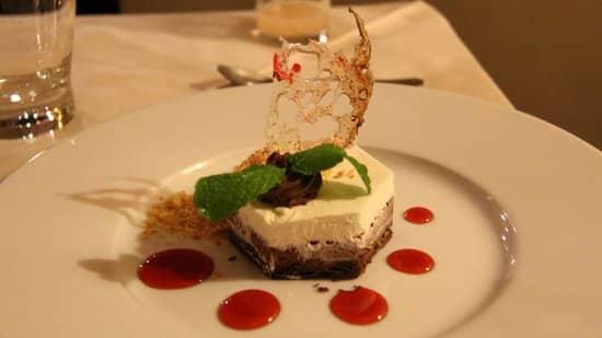 Dessert de l'Hôtel Restaurant La Varangue