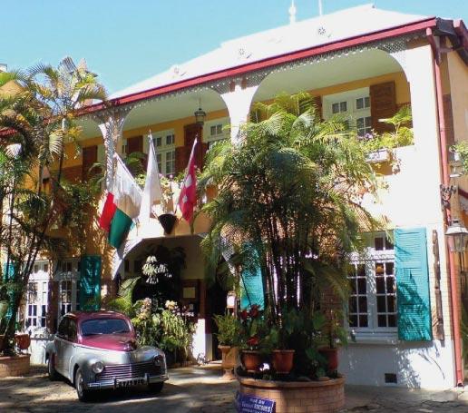 L'Hôtel Restaurant La Varangue, restaurants à Antananarivo