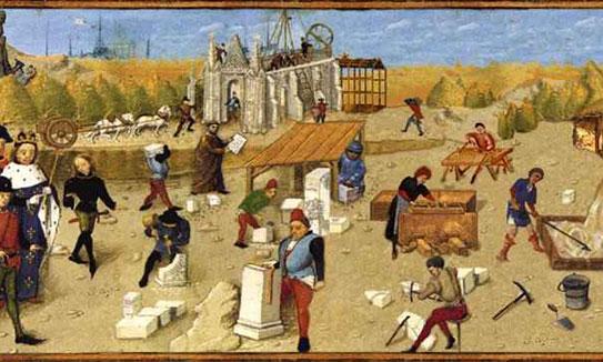 Qualité, finition, architecture : les valeurs de Leex Network s'apparentent aux maçons du Moyen Age qui construisaient les cathédrales