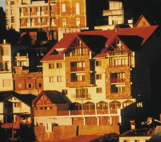L'hôtel Le Palissandre