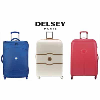 La France à l'honneur avec les articles de bagagerie Delsey