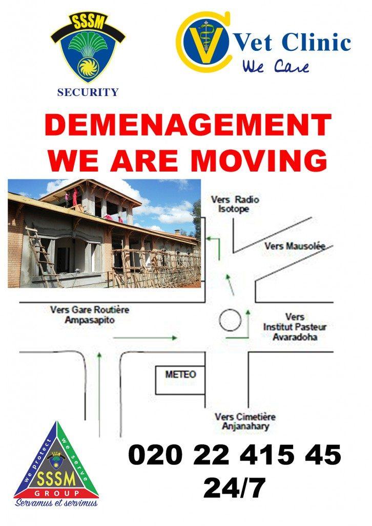 VetClinic déménage !