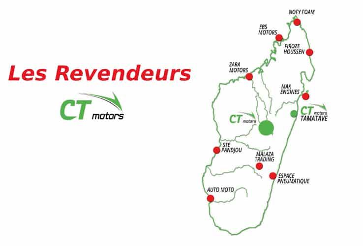CT Motors - revendeurs