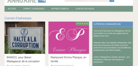 Emotion, design site web