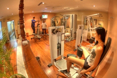 Hôtel Colbert, fitness
