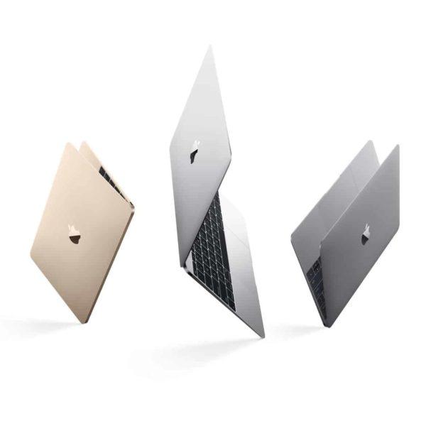 La gamme très aérienne des MacBook