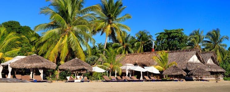 Le Nosy Be Hôtel Spa, côté plage
