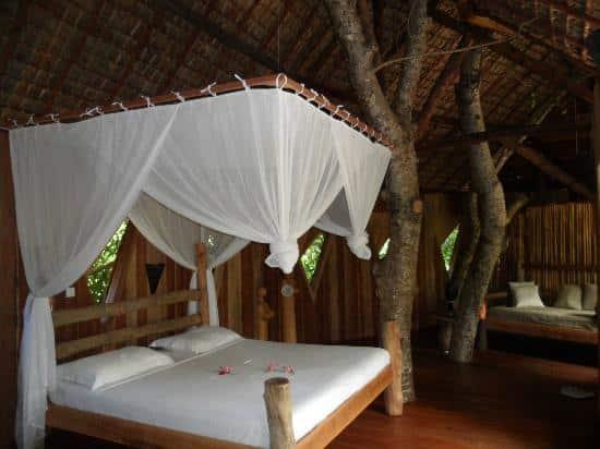 Nosy Lodge, chambre