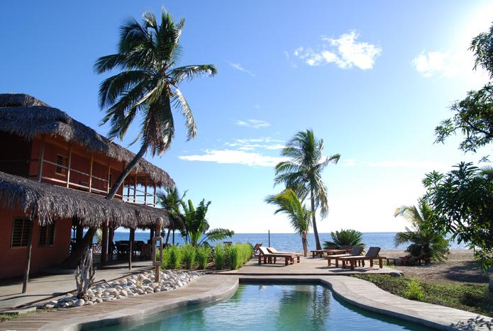 Nosy Lodge, piscine