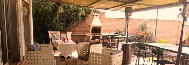 Restaurant Emma Planque, terrasse