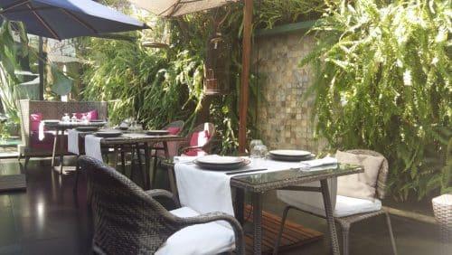 La terrasse du restaurant Grand Orient