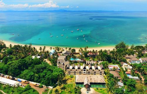 royal beach hôtel - vue d'en haut