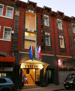 Tana Hôtel, façade