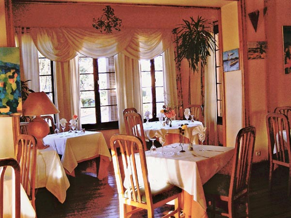 Villa Vanille, salle de restaurant