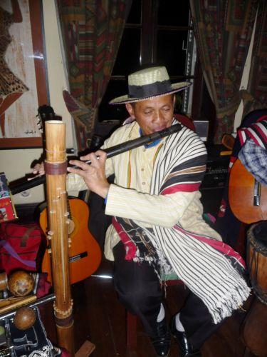 Soirée musicale à la Villa Vanille
