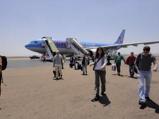 Aéroport Antananarivo, arrivée