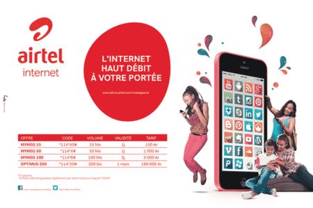 Airtel, internet