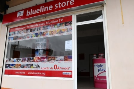 Blueline store au Tana Water Front