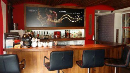 Dzama Cocktail Café, comptoir