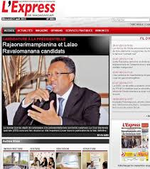 L'Express de Madagascar consultable en ligne