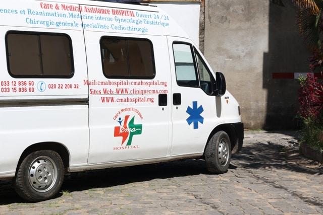 Ambulance du CMA