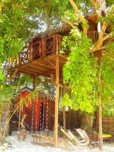 Ecolodge Ravoraha, Cabane dans les arbres