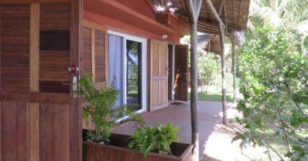 Hôtel Vanivola, Terrasse du bungalow classique