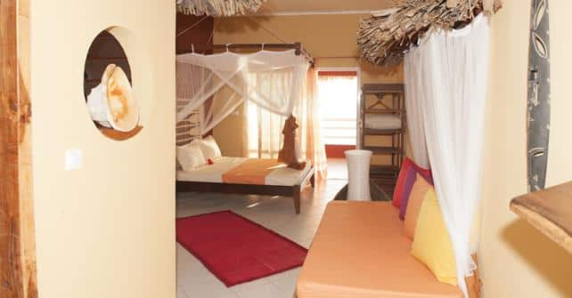 Hôtel Vanivola, chambre en bord de mer