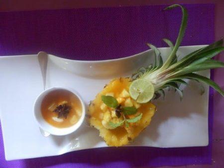 Ecolodge Ravoraha, ananas