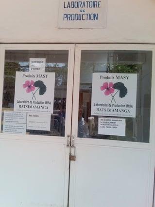 Laboratoire de production des produits MASY