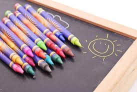 Section arts plastiques à la Kids' Academy
