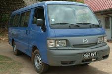 Mada Rental, Minibus Mazda