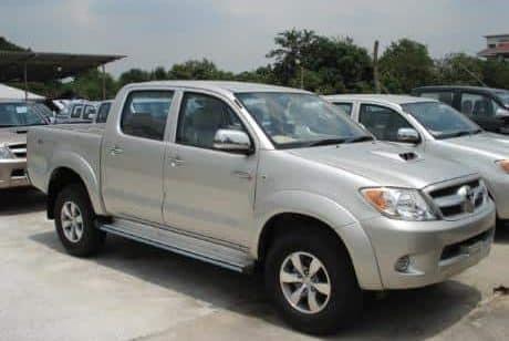 Mada Rental, Mazda double cabine