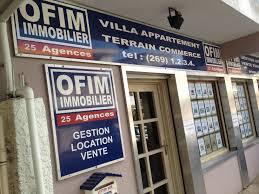 OFIM Immobilier, 25 agences dans tout l'Océan Indien