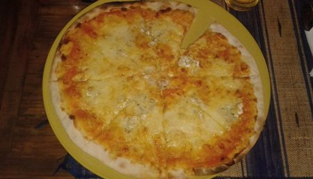 Pizzéria Au Stade, pizza aioli