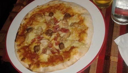 Pizzéria Au Stade, Pizza de la Chef