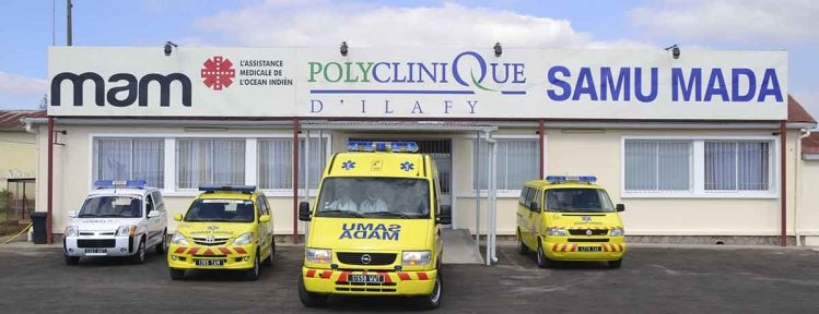 Polyclinique d'Ilafy, urgences