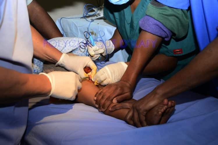 Soins chirurgicaux à la Polyclinique d'Ilafy