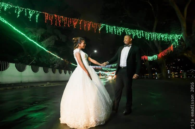 Rija Emadisson, photos de mariage