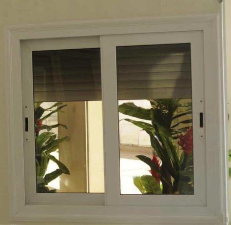 Fenêtre avec volet roulant, Socavitre