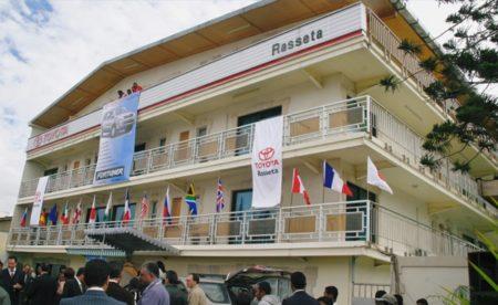 Agence Toyota Rasseta à Antananarivo