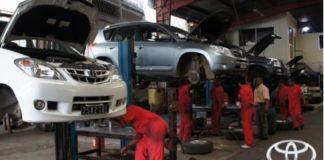 Garage à Antananarivo, Toyota Rasseta