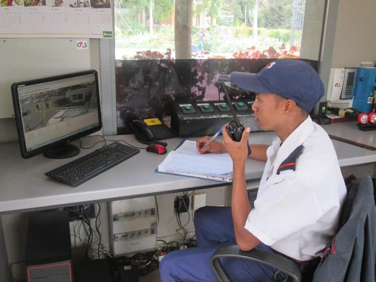 Centre de contrôle G4S