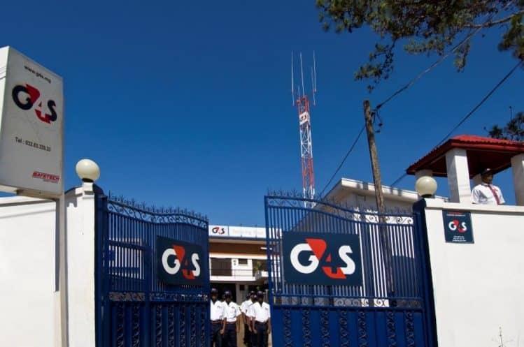G4S présent dans le monde entier