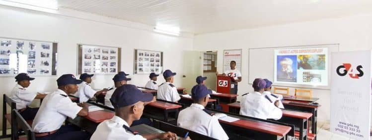 Formations régulières pour le personnel G4S