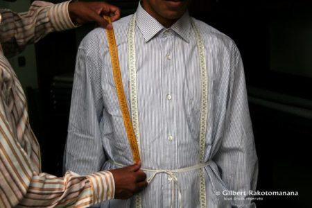 Costumes sur-mesure chez Gilbert Rakotomanana